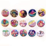 エンディング缶バッジ(全15種)|アイカツ!シリーズ × TOWER RECORDS